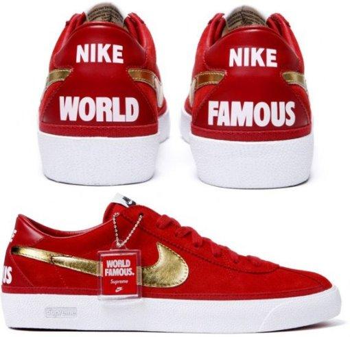Supreme X Nike Bruin 2a3d73f830